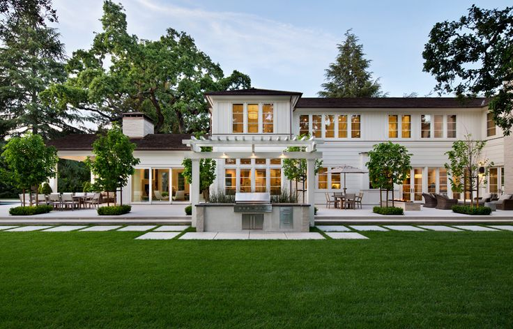 Sophisticated Transitional Style Luxury Home - Atherton, California
