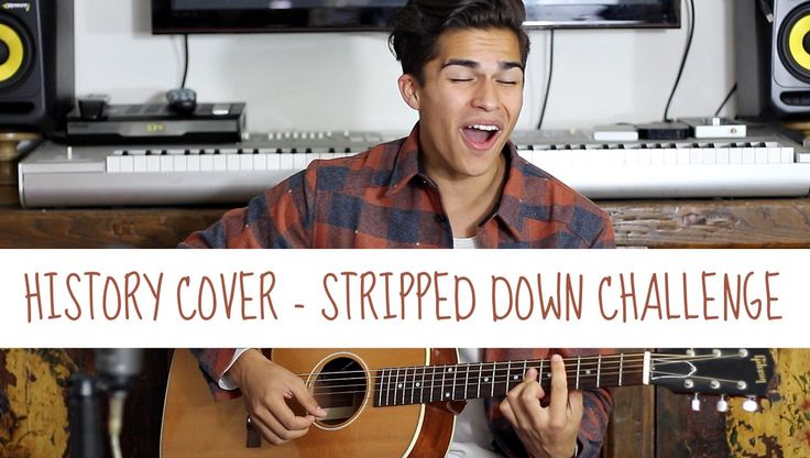History by One Direction | Stripped Down Challenge | Alex Aiono Cover//HES AWESOME