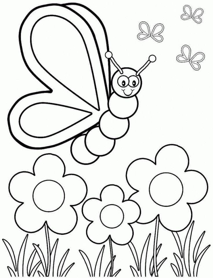 Coloring Rocks Spring Coloring Pages Spring Coloring Sheets Kindergarten Coloring Pages Coloring page for kindergarten pdf