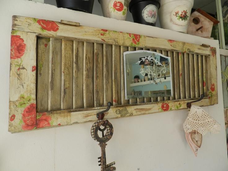 M s de 1000 ideas sobre persianas viejas en pinterest for Como hacer una puerta reciclada