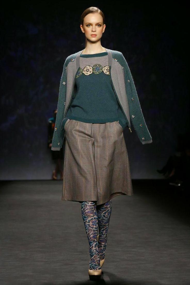 Mis Queridas Fashionistas: Vivienne Tam Ready To Wear Fall/Winter 2014 - New York Fashion Week