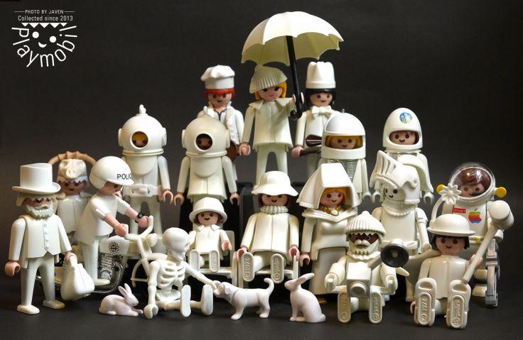 #Playmobil #white