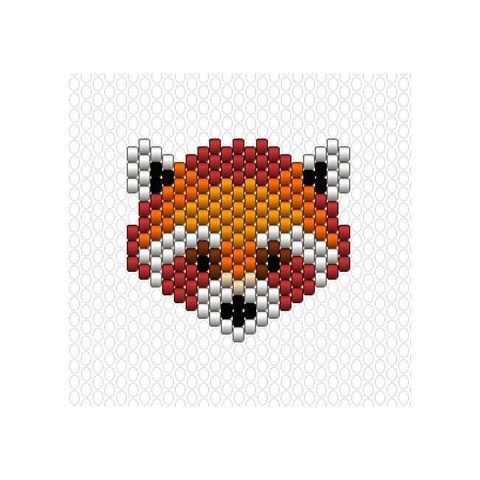 Pour agrandir la famille des animaux sauvages, je vous avait promis un joli panda roux ❤ ce n'était pas évident sachant qu'il y en a déjà de très beaux réalisés notamment celui de @pauline_eline ✨ #Miyuki #perlesmiyuki #miyukidelica #miyukibeads #diy #brickstitch #handmade #pandaroux #cute #wild #animals #jenfiledesperlesetjassume #jenfiledesperlesetjaimeca #motifcharlottesouchet Charlotte Souchet ©