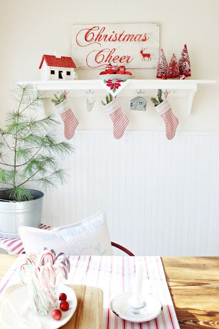 Happy At Home: Holiday Home Tour Part One: Entry and