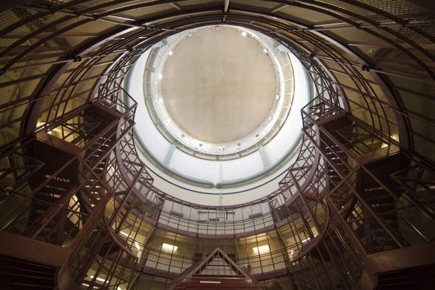 Main dome inside the Kingston Penitentiary in Kingston, Ontario