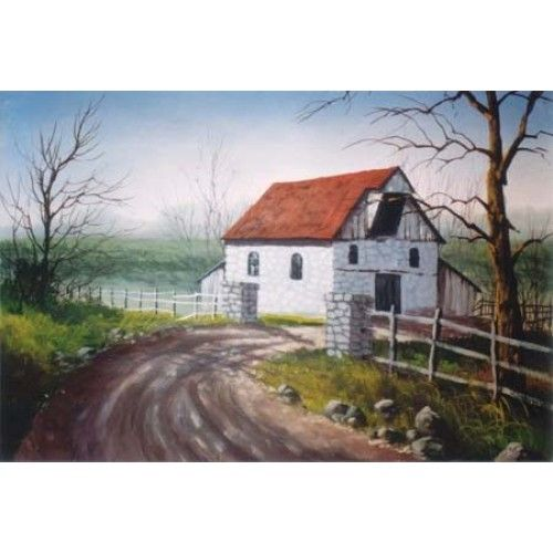 2367 Best Paintings--Gardens And Old Buildings Images On