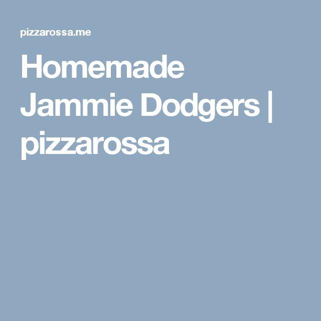 Homemade Jammie Dodgers | pizzarossa