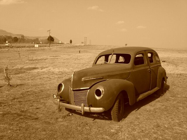 Old Ford car .