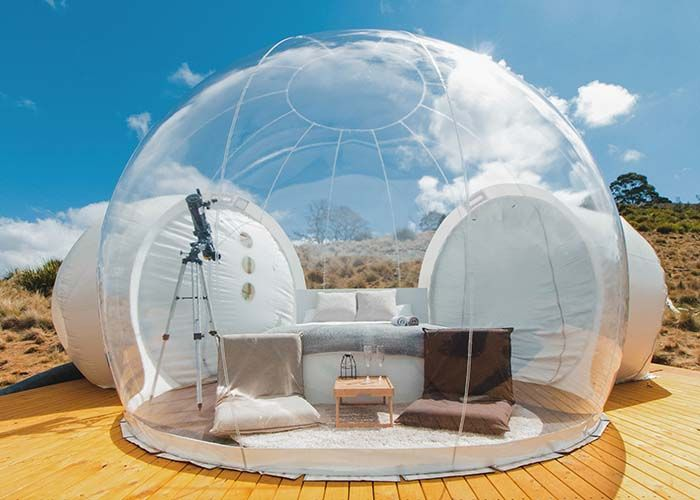 Bubble Tent See The World With Crystal Clarity Vision Times Bubble Tent Bubble House House Tent