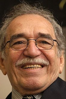 Gabriel García Márquez - Colombian novelist and Nobel Prize winner. Works include Love in the Time of Cholera and One Hundred Years of Solitude.