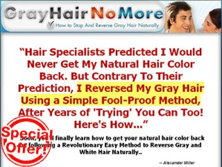 Natural Remedy to Get Your Young-Looking Hair Color Back