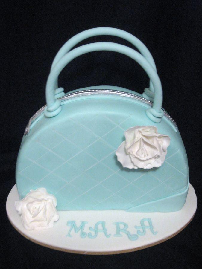 Handbag Design Birthday Cake : 562 best images about Cakes - Shoes/Handbags on Pinterest ...