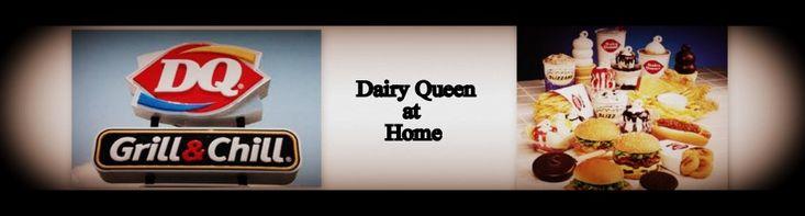 Dairy Queen Restaurant Copycat Recipes - side bar has lots of restaurants