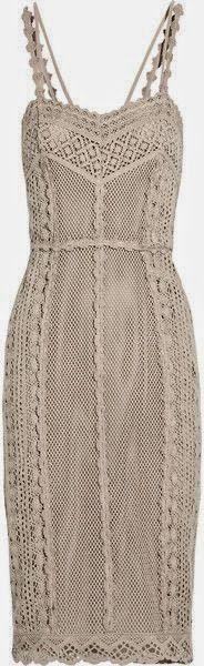 Ivelise Feito à Mão: Vestidos De Crochê Lindos