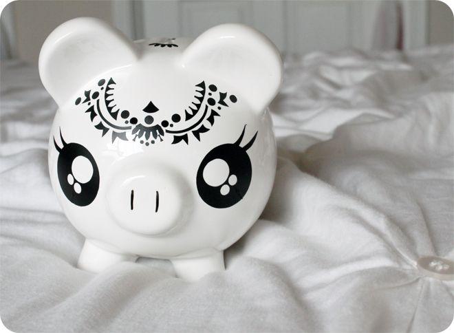 <3 Piggy Bank <3