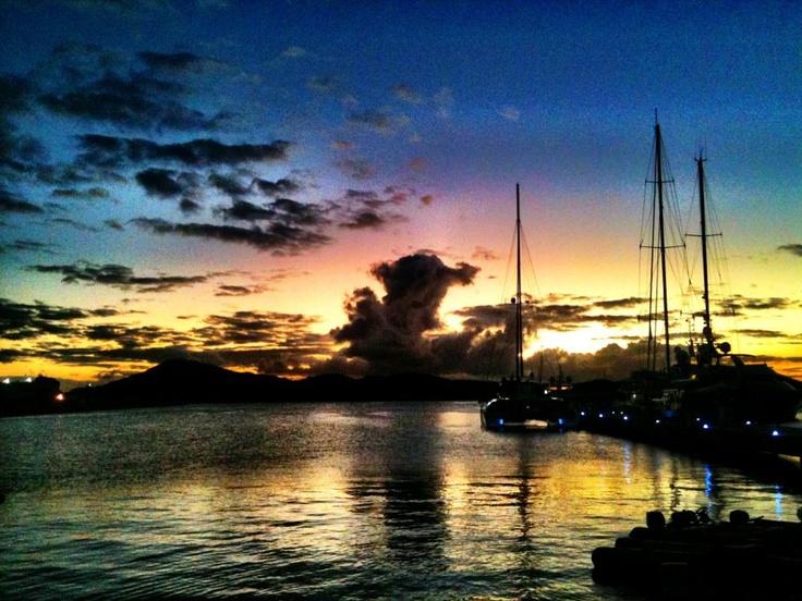as night sets in...U.S Virgin Islands