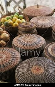 dominica baskets made by local carib indians about