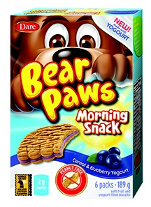 Bear Paws Morning Snacks Canada Only 5/19