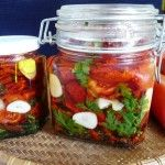 Sušené paradajky v oleji