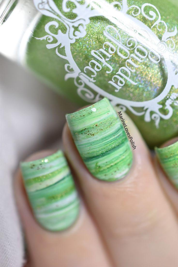 Mejores 19 imágenes de uñas esponjeadas en Pinterest | Diseño de ...