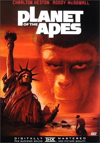 PLANET OF THE APES 1968 video cover