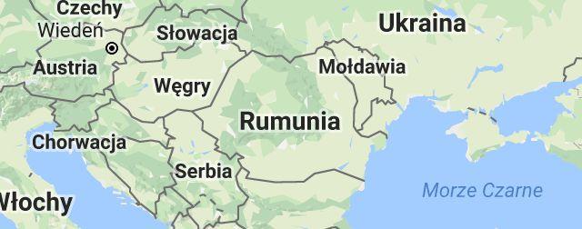 Mapa: Rumunia