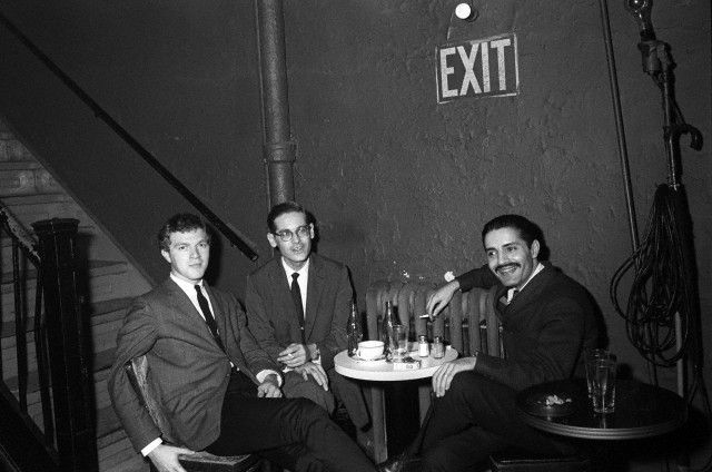 Scott LaFaro, Bill Evans e Paul Motian, Village Vanguard, 1961 - © Steve Schapiro