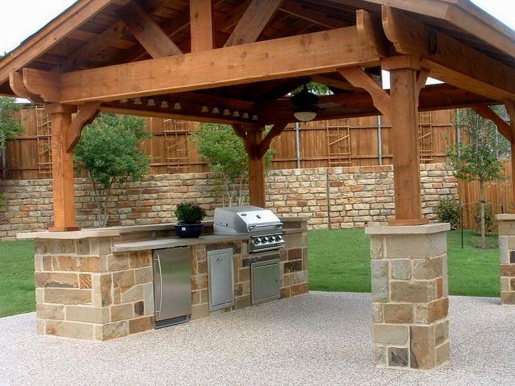 модерн-галерея-во-дворе-кухня-двор-галерея кухня на заднем дворе галереи дворе