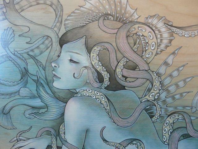 audrey kawasakiArtists Life, Arttattoo Inspiration, Amazing Art, Art Inspiration, Audrey Kawasaki, Beautiful Octopuses, Art Tattoo Inspiration, A Tattoo, Artworks Artists