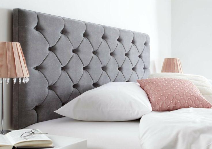 tête de lit en tissu pour chambre contemporaine