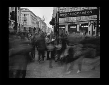 "Saatchi Art Artist Jean-Marc ''MM'' De Coninck; Photography, ""Oxford Circus Station"" #art"