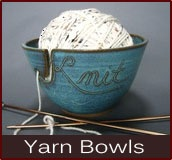 Omg, I need one ASAP. Yarn Bowl for your balls of yarn.