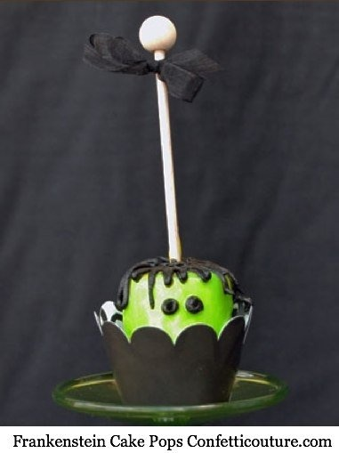 Halloween Cake Pop Decorating Ideas : 47 best Cake Pops d Halloween images on Pinterest ...