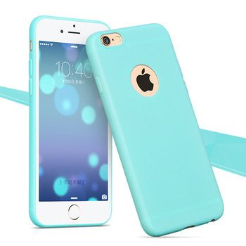 Hot Sales Cute Candy colors TPU Soft TPU Silicon phone cases for Apple iphone 5 5S 5G Fashion back Coque Case with logo window