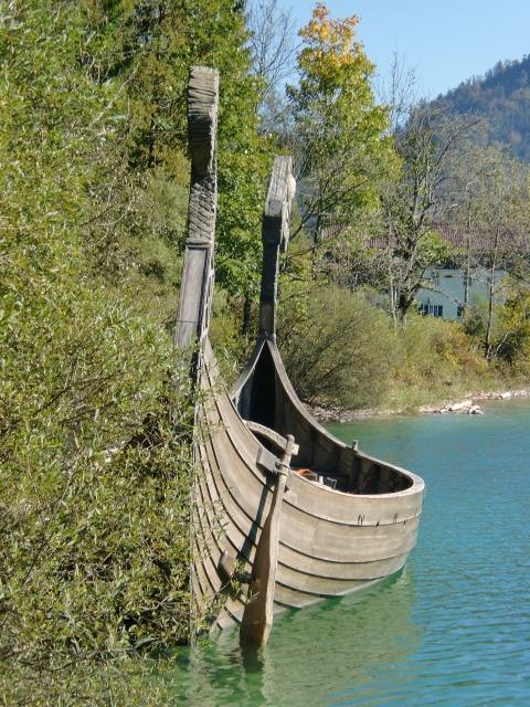 Wikinger am Walchensee