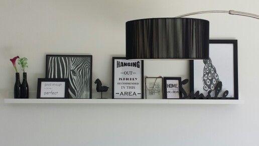 fotoplank, Scandinavisch, zwart-wit