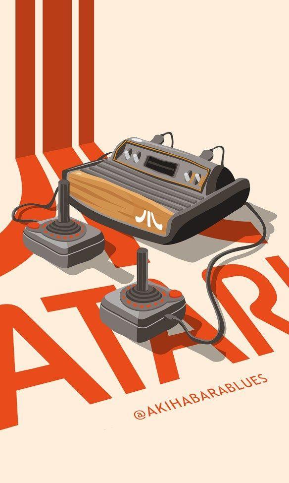 Atari Ps4 Ideas Of Ps4 Ps4 Playstation4 Atari More Retro Arcade Retro Video Games Vintage Video Games