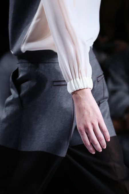 Viktor & Rolf | Fall 2014 detail shirt