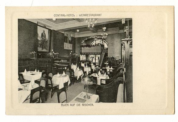 Königsberg, Central-Hotel, Weinrestaurant