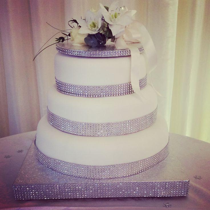 Wedding cake make for my friend Tina