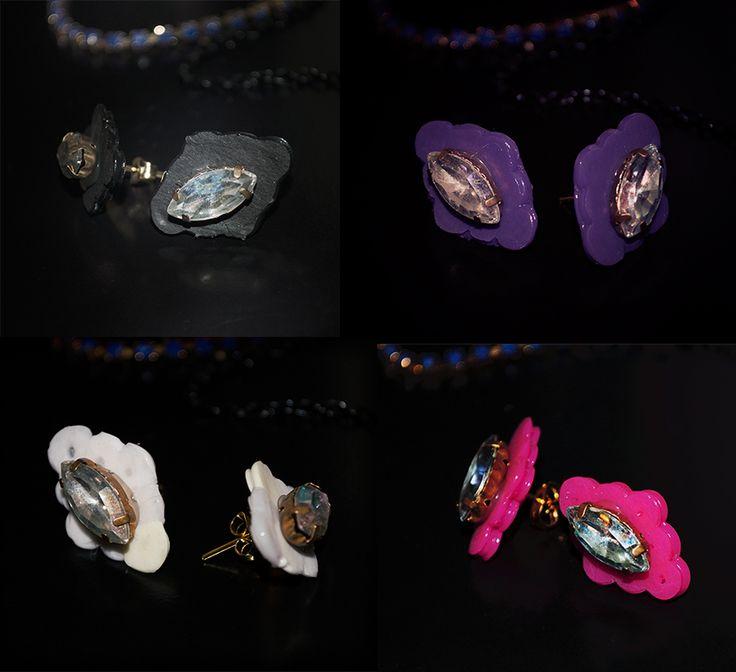 Light Crystal Earrings