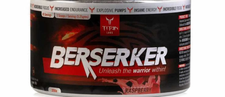 Have you tried Titan Labs' NEW BERSERKER? Here are our thoughts on this powerful pre-workout.