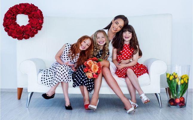 Andreea Raicu a creat prima colecţie de haine pentru copii
