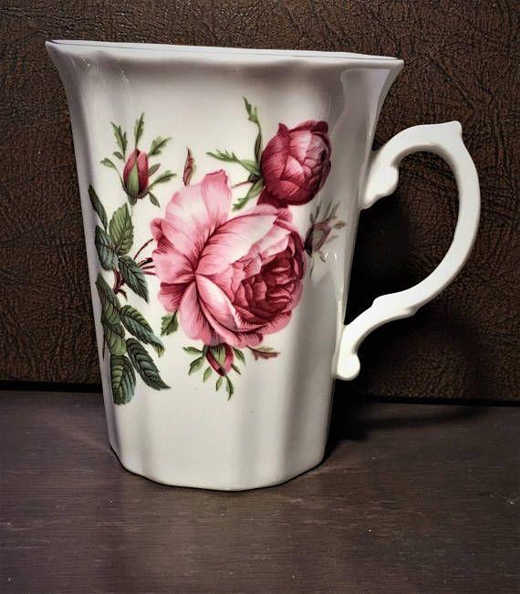 Royal Grafton Fine Bone China Roses Mug