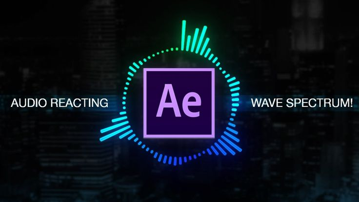 How to create Reactive Audio Spectrum Waveform Effects in Adobe After Effects (CC 2017 Tutorial) - YouTube
