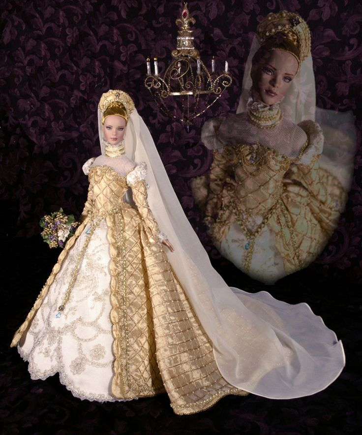 42 Best Renaissance Wedding Dress Images On Pinterest: 17 Best Images About Wedding Dresses For Dolls. On