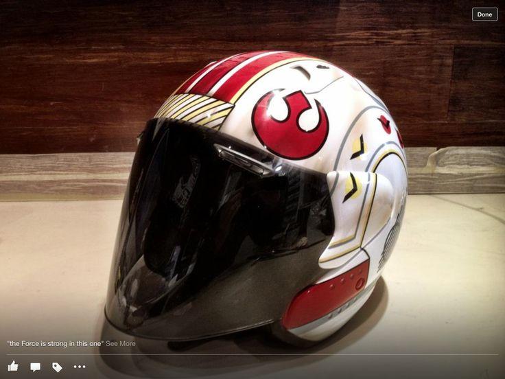 Sweet Rebel Alliance motorcycle helmet art
