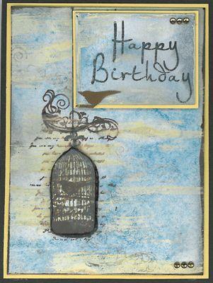 Stamp-it Australia: 4603E Swirl Cage, 4642D Happy Birthday - Card by Scheryl