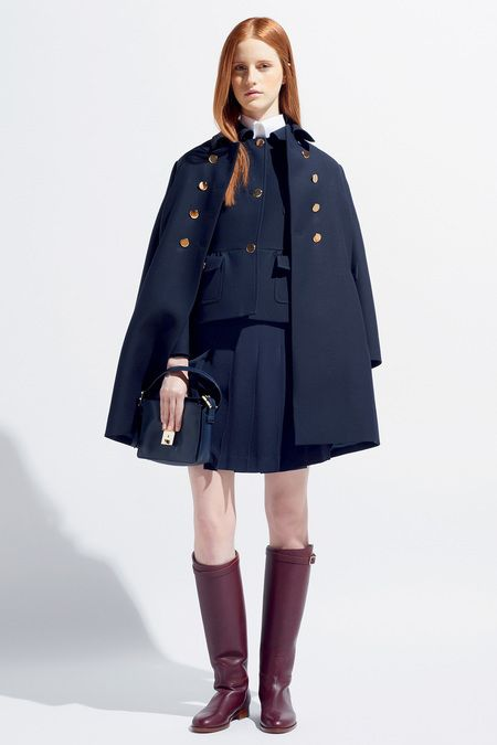 Valentino, girls uniform.. in all Uniform colors for the coat, Solid Burgundy, Gray and Navy blue
