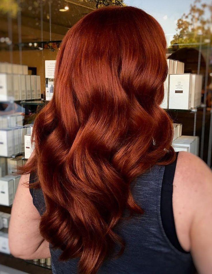 Auburn Hair #8: Seductive Chocolate Hair with Highlights